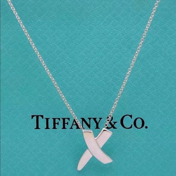 33dcfd950 Tiffany & Co. Jewelry | Tiffany Co Paloma Graffiti X Necklace | Poshmark
